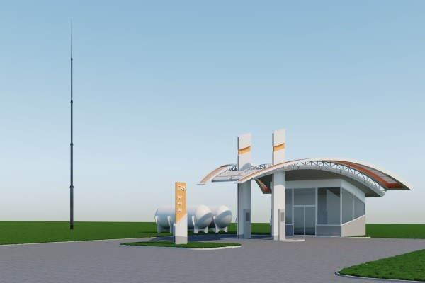 Окремо стоячий Блискавковідвід, надійна система блискавкозахисту на 100% з гарантією на конструкцію 30 років