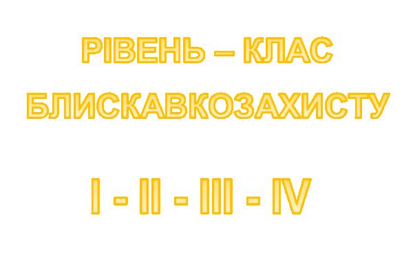 Рівень Блискавкозахисту об'єктів різного призначення, згідно офіційно затвердженних норм ДСТУ Б В.2.5-38: 2008