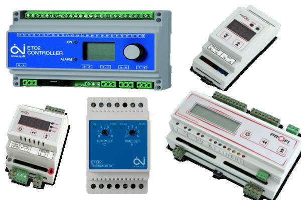 Терморегулятори і Контролери