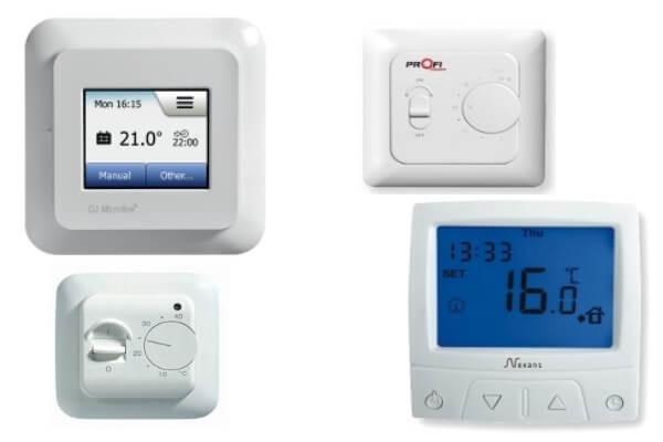 Програмовані, Цифрові та Електромеханічні термостати для теплої підлоги