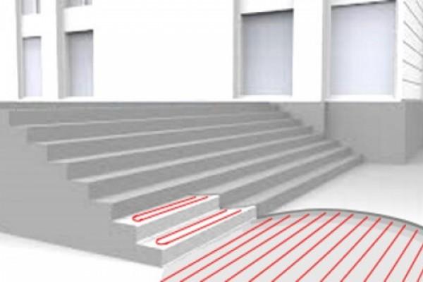 Системы кабельного подогрева открытых поверхностей спортивных площадок, пешеходных зон, лестниц, въезда в паркинг и прочее